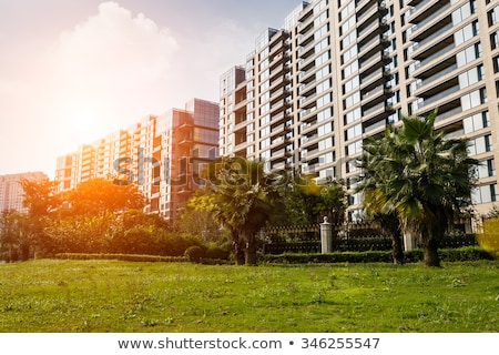 New residential area of the apartment building in China Stock photo © myfh88