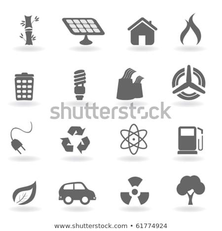 ядерной икона дизайна фон искусства науки Сток-фото © bluering