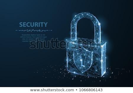 подобно · безопасности · икона · дизайна · стороны · домой - Сток-фото © sdCrea