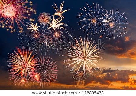 beautiful 4th of july background Stock photo © SArts