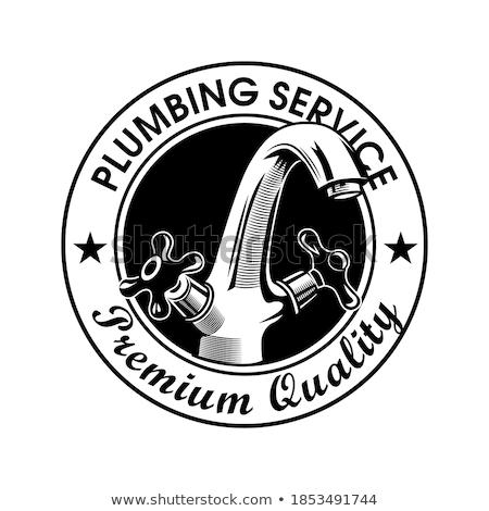 Foto stock: Emblema · círculo · ilustração · formato · eps