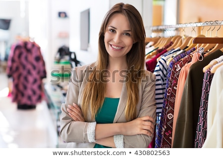 Content young female tailoring Stock photo © dash