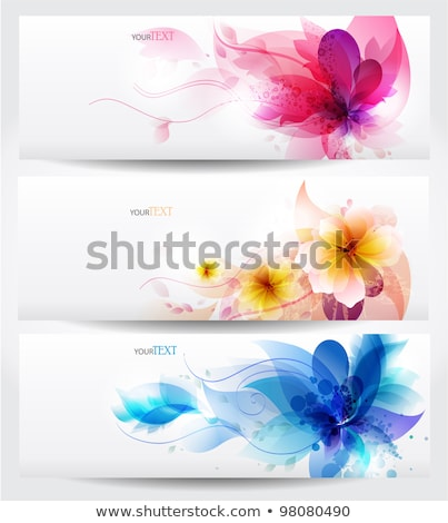 Abstract spring background. Template brochure design Stock photo © fresh_5265954