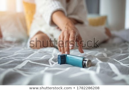 asthma stock photo © fisher
