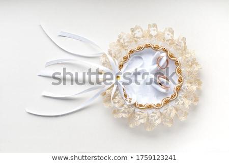 Casamento ilustração casal pássaro lago asas Foto stock © adrenalina