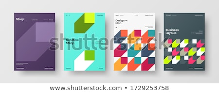 Template design covers for printing, vector illustration. stock photo © kup1984