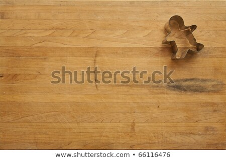 Cookie пряничный Cookies доска древесины Сток-фото © wavebreak_media