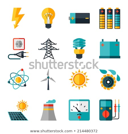multimeter flat icon stock photo © biv