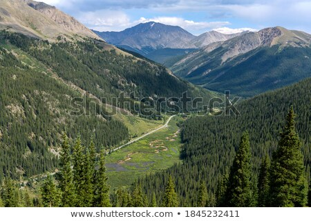 La pic panorama pied Colorado Photo stock © pancaketom