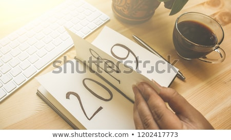 прошлое Новый год 3d иллюстрации бизнеса знак Сток-фото © Oakozhan
