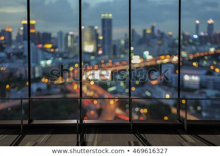 window at night stock photo © is2