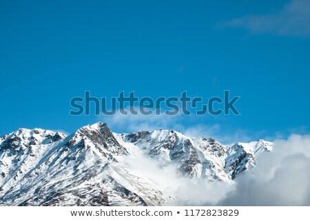 Misty Colorado Mountains Stock photo © pancaketom