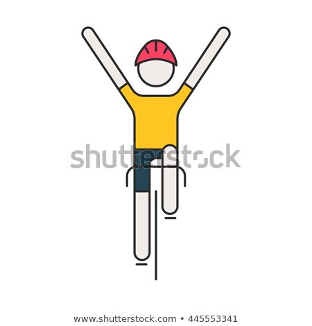 fiets · grijs · auto · auto - stockfoto © popaukropa