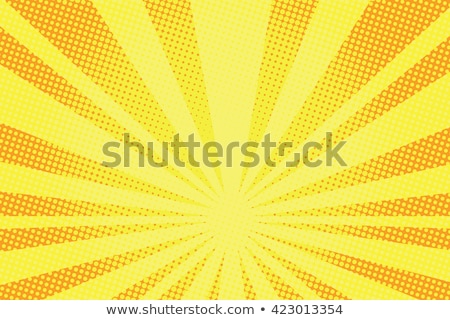 Halftone vektor képregény stílus Stock fotó © SArts
