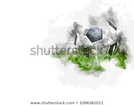 abstract football watercolor background design Stock photo © SArts