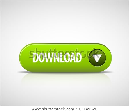 Big green download now button Stock photo © orson