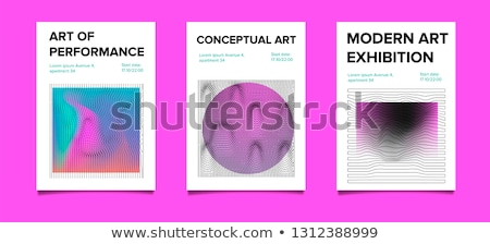 abstract coloful particles banner design Stock photo © SArts