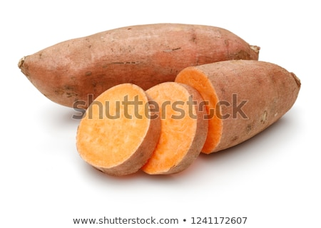 organic orange sweet potato  Stock photo © szefei