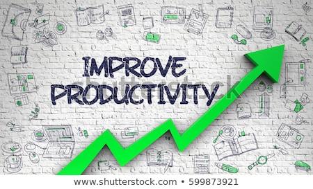 productividad · garabato · diseno · iconos - foto stock © tashatuvango