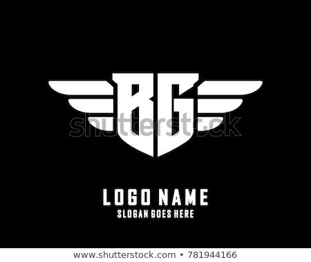 Negro identidad placa etiqueta emblema logo Foto stock © kyryloff