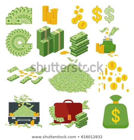 geld · varken · bank · cash · munten · economie - stockfoto © robuart