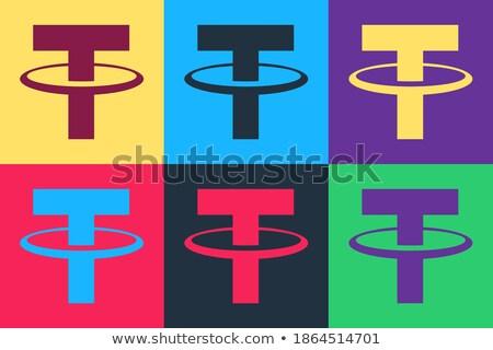 resumen · gancho · icono · texto · diseno · elementos - foto stock © netkov1