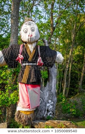 Japanese scarecrow in Nara Park, Japan Stock photo © daboost