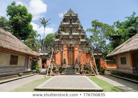 Real palácio bali Indonésia pormenor edifício Foto stock © boggy