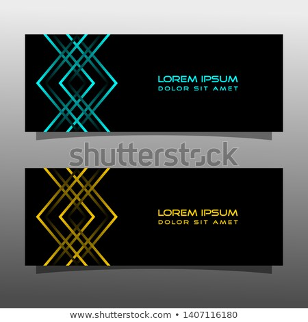 Colorful Bright And Glossy Invitation Card Vector Stock photo © pikepicture