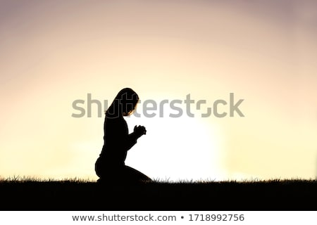 Stock photo: Praise the lord