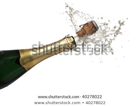 Corks of champagne extreme close up stock photo © calvste