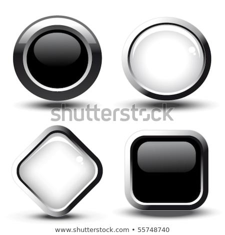 new collection glossy shiny circular vector button stock photo © rizwanali3d