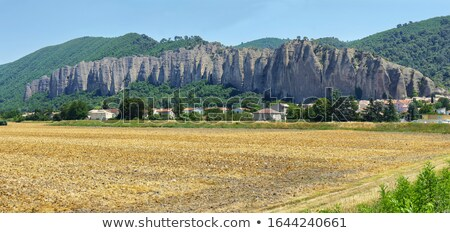 Unusual Rock Formations, Les Mees, France Stock photo © meinzahn