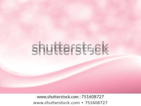 beautiful smooth pink wave flowing on white background Stock photo © SArts