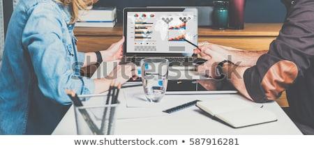 zestaw · wektora · działalności · wykresy · statystyczny - zdjęcia stock © robuart