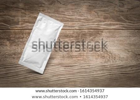 Blanco condimento madera alimentos Foto stock © feverpitch