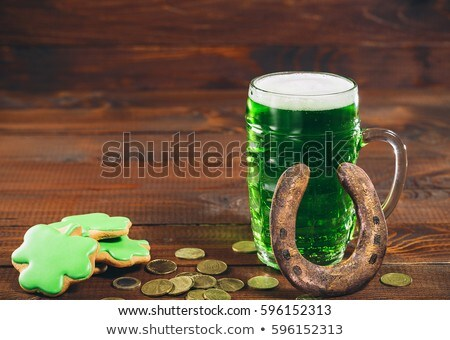 Gingerbreads for Patrick's day Stock photo © olira
