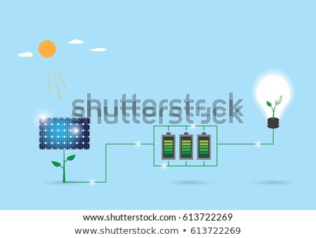solar cell battery stock photo © ssuaphoto