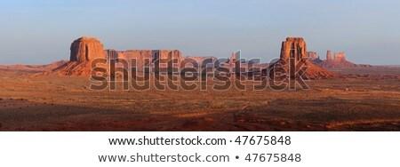 Artist's Point, Monument Valley National Park, Utah-Arizona, USA Stock photo © phbcz