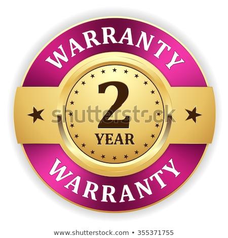 2 Years Warranty Purple Vector Icon Design Stock photo © rizwanali3d
