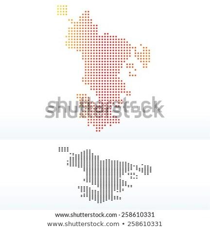 точка шаблон вектора изображение карта Африка Сток-фото © Istanbul2009