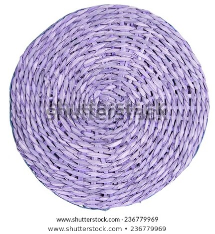 Violet bamboo place mat Stock photo © Digifoodstock