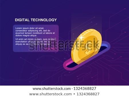 Digitális jólét felhasználó számítógép laptop tabletta Stock fotó © RAStudio
