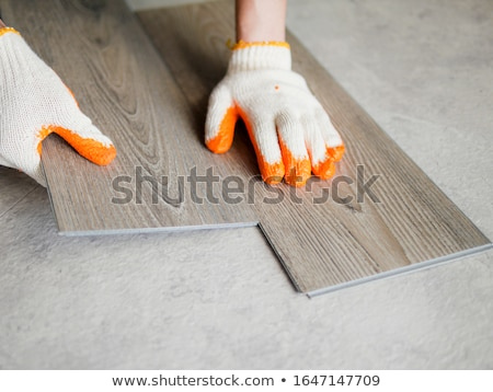 Collection of Cement and Tile Installation Tools at Construction Stock photo © feverpitch