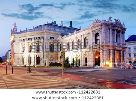 Wenen · Oostenrijk · theater · een · belangrijk · taal - stockfoto © borisb17