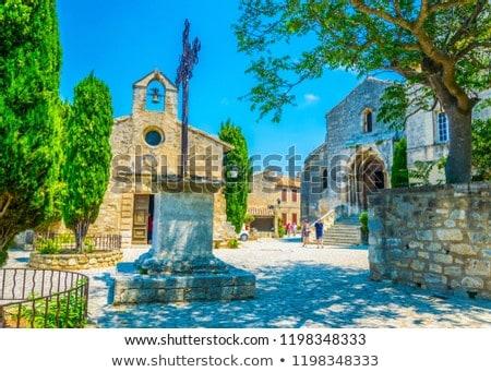 Chapelle des Penitents Blancs in Les-Baux-de-Provence, France Stock photo © boggy