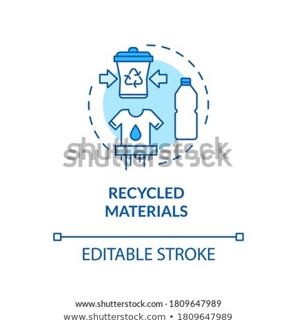 Recycling plastic bottles vector concept metaphor Stock photo © RAStudio