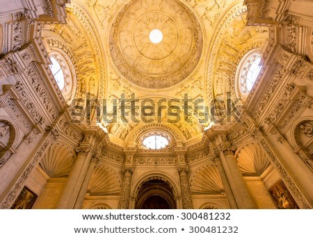 Interior Of Cathedral Of Seville Andalusia Spain Stock photo © vichie81