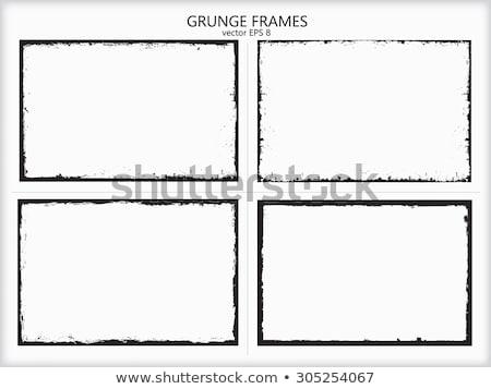 grunge · grens · computer · gedetailleerd - stockfoto © Lizard