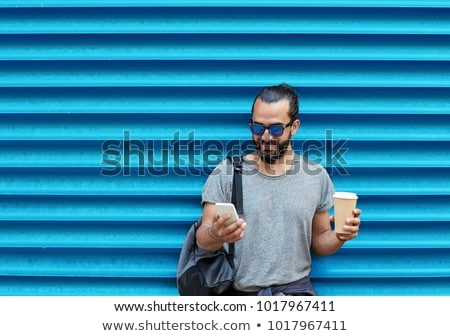 muur · beton · repetitieve · lijn · ontwerp · textuur - stockfoto © dolgachov